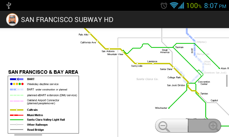 SAN FRANCISCO SUBWAY BART HD - screenshot