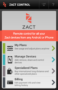 Zact Control - screenshot thumbnail