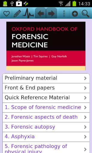 Oxford Handbook of Forensic M