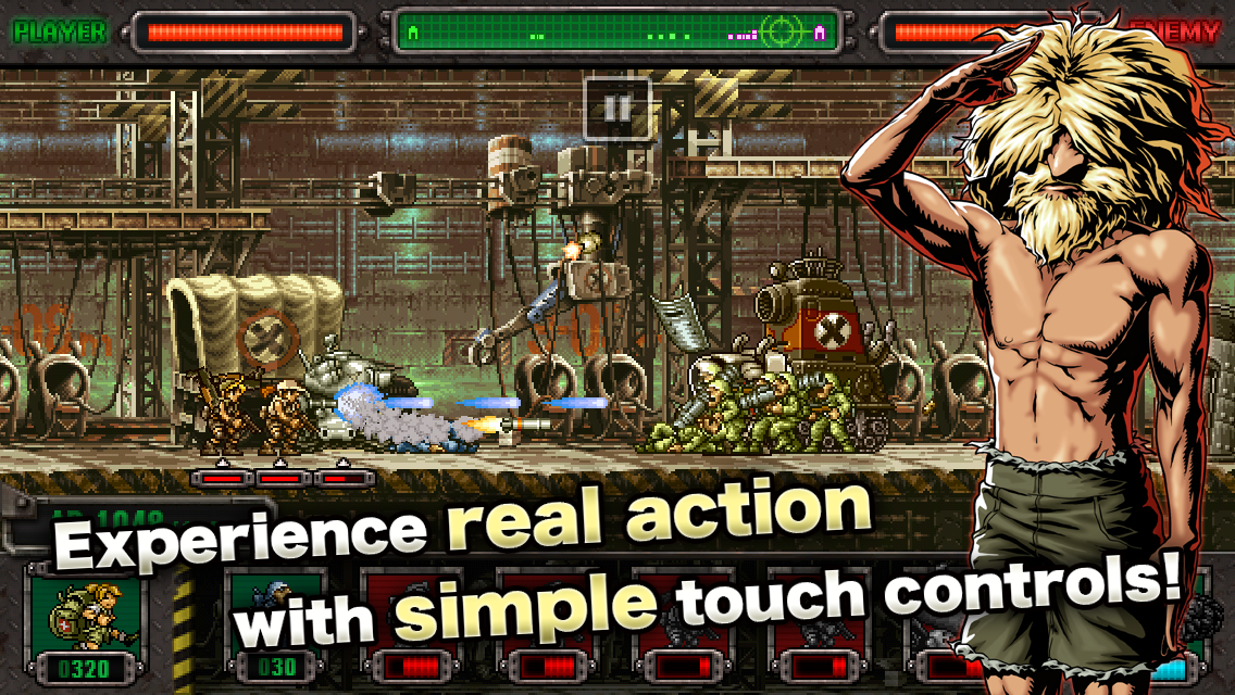 Screenshots of METAL SLUG DEFENSE for iPhone
