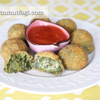 Spinach Cheese Balls.