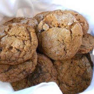 Dec 31 Ginger Bourbon Cookies