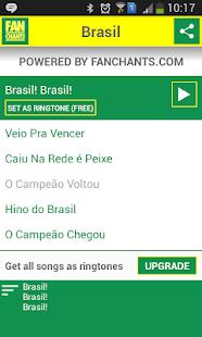 Brazil Songs World Cup 2014 - screenshot thumbnail