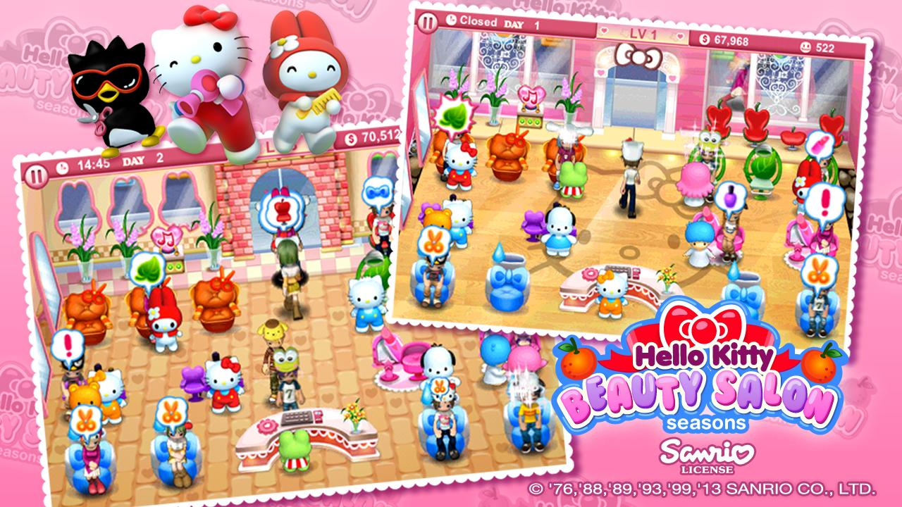 Hello Kitty Seasons - screenshot
