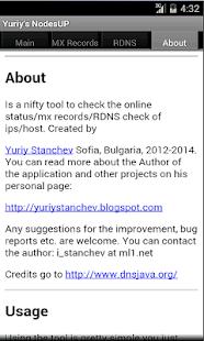 Yuriy's NodesUP - screenshot thumbnail