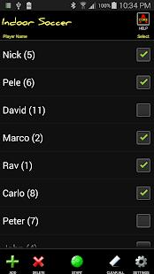 Indoor Soccer Subs screenshot