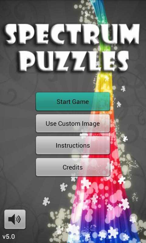 Spectrum Puzzles Demo - screenshot