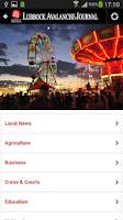 Screenshot of Lubbock Avalanche-Journal