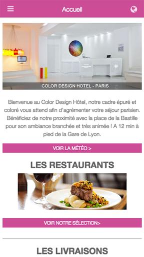 Color Design Hotel - Paris
