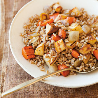 Farro with Caramelized Root Vegetables