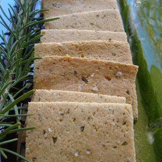 Gluten Free Almond Crackers