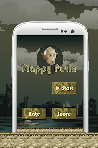 Flappy Flying Putin