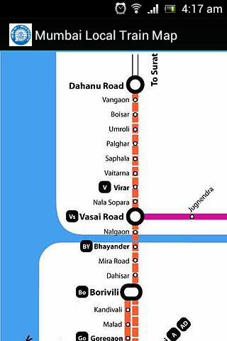 mumbai local train map pdf