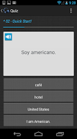 Screenshot of Rapid Rote Mobile