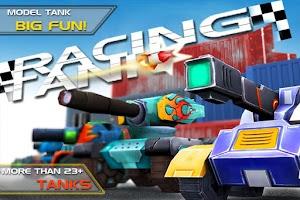 Screenshot of Racing Tank