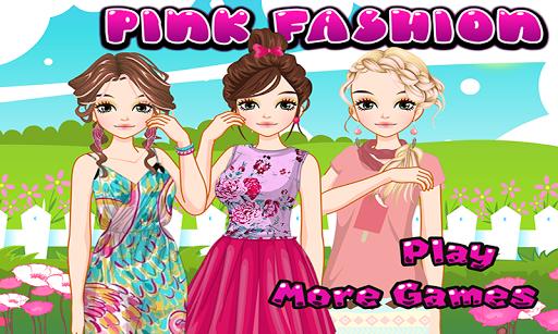 Pink Girls - Princess Games