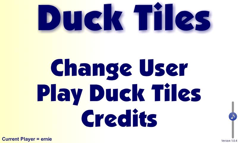Duck Tiles- screenshot