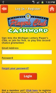 Cashword by Michigan Lottery - screenshot thumbnail