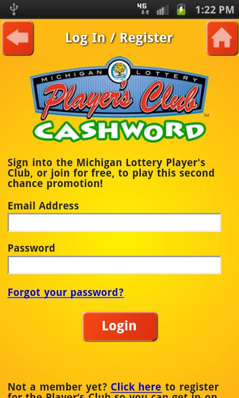 Cashword by Michigan Lottery - screenshot