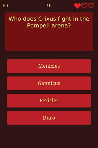 【免費益智App】Trivia for Spartacus-APP點子