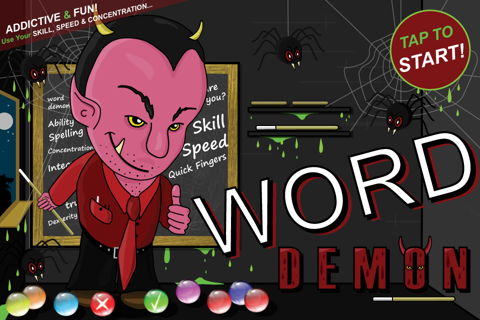 Word Demon- screenshot