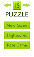 Screenshot of 15 Puzzle