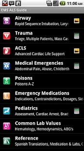 EMS ACLS Guide screenshot for Android