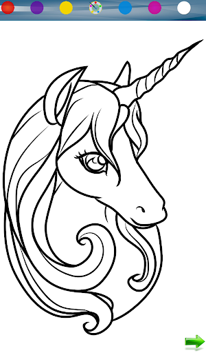 Unicorn Coloring Game
