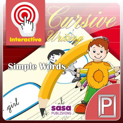 Cursive Writing Simple Words 書籍 App LOGO-APP試玩