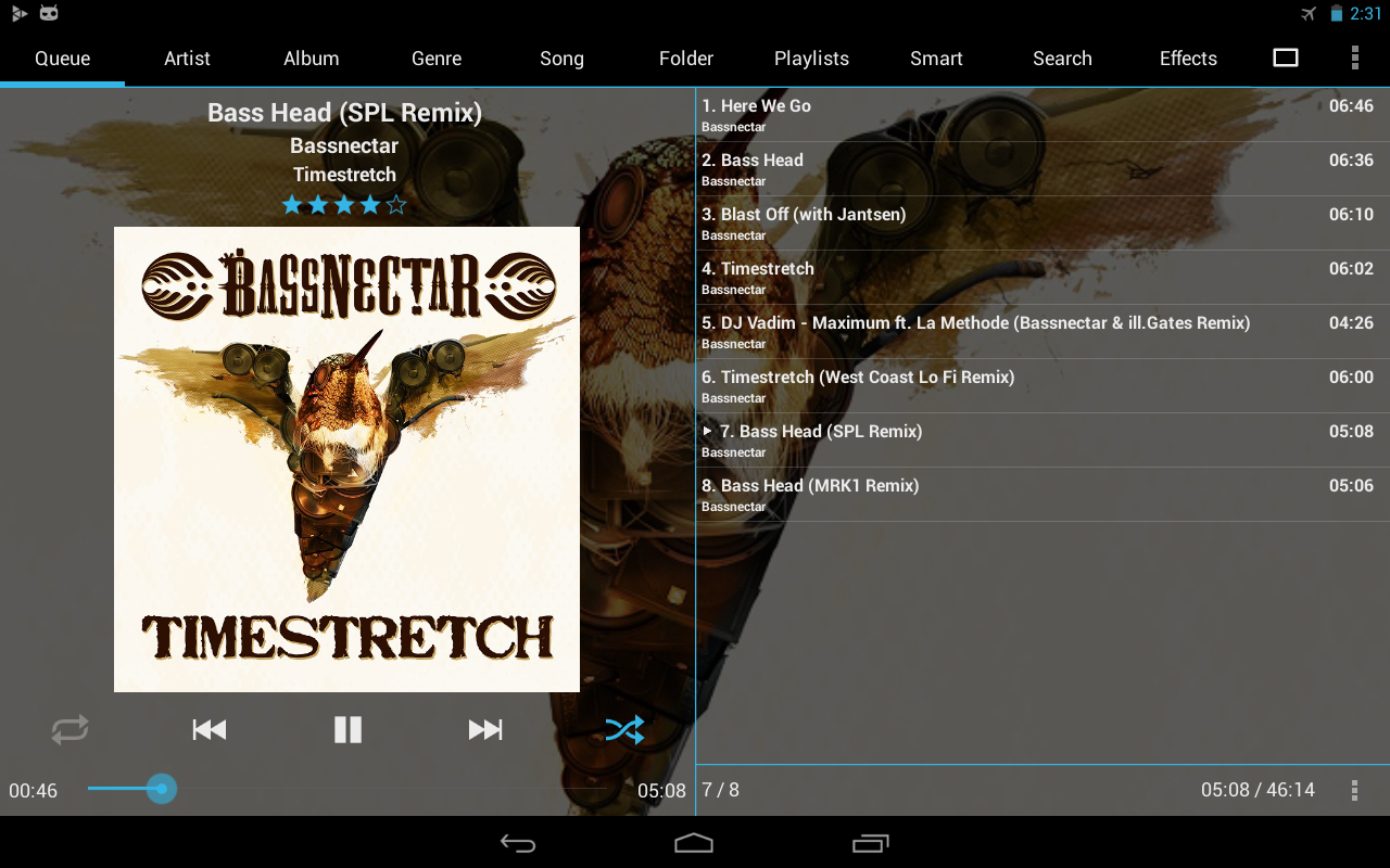 GoneMAD Music Player Unlocker - screenshot