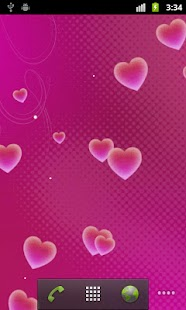 Hearts Live Wallpaper- screenshot thumbnail