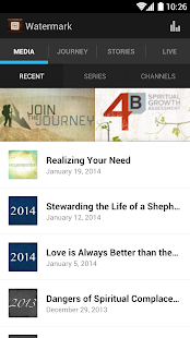 Watermark Community Church - screenshot thumbnail
