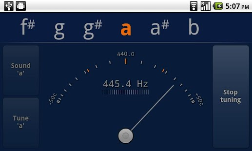Tuner - gStrings - screenshot thumbnail