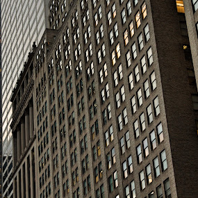 windows  by Lejla Hadziabdic - Buildings & Architecture Office Buildings & Hotels ( #nyc #buildings #windows #architecture #reflection #newyork )