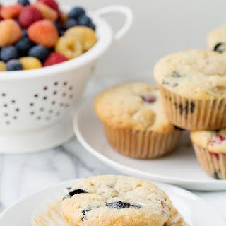 Vegan Vanilla Berry Muffins