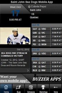 Saint John Sea Dogs - screenshot thumbnail
