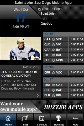 Saint John Sea Dogs - screenshot