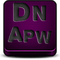 Apw Theme Dark naps pink icon