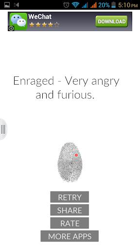 Fingerprint Mood Scanner Prank
