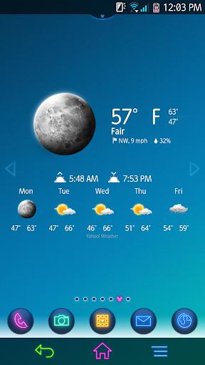 Chronus: Galaxy Weather Icons