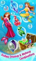 Screenshot of Mermaid Princess Makeover Game