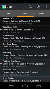 Diners Drive ins Dives Finder- screenshot thumbnail