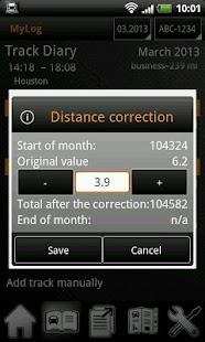 MyLog GPS Trips Logbook - screenshot thumbnail
