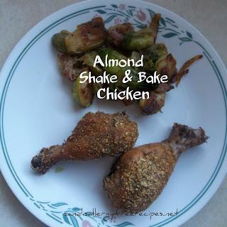 """""""Shake and Bake"""" Chicken (Grain Free /Gluten Free/ Paleo)."""