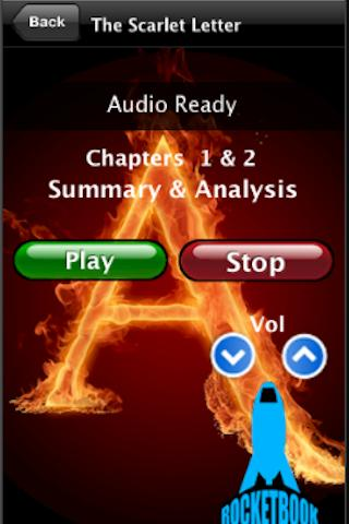 Audio Guide-The Scarlet Letter- screenshot