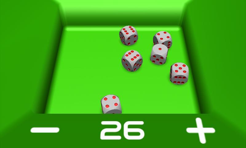 Dados 3D - screenshot