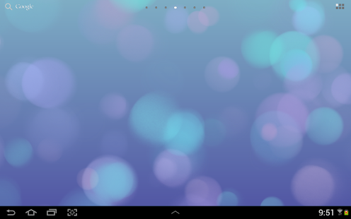 Light Drops Live Wallpaper - screenshot thumbnail