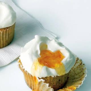 Orange-Almond Cupcakes.