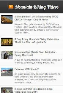 MTB Videos - screenshot thumbnail