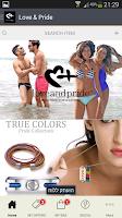 Screenshot of Love and Pride LLC